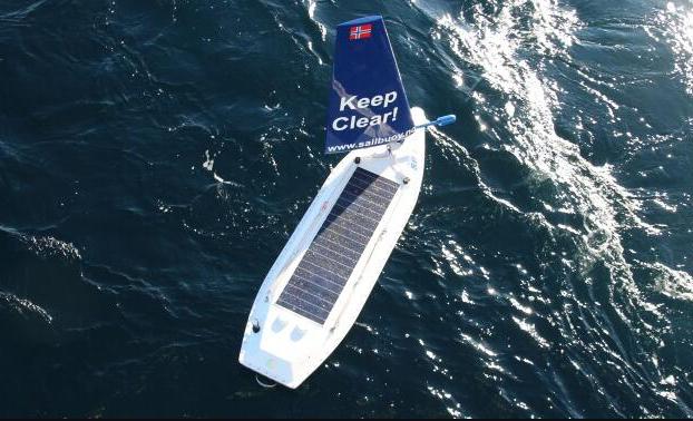 携带电子罗盘等传感器的自动驾驶帆船首次横渡大西洋